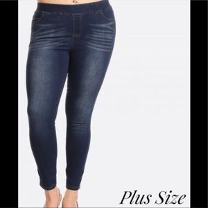 Women's Plus classic skinny jeggings sizes 16-24